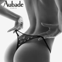 Aubade Boite a Desir Strass Cristal String オーバドゥ【Gストリング】