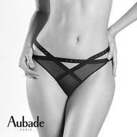 Aubade Boite a Desir Rencontre Anonyme Mini-coeur brief オーバドゥ 【ビキニ/オープンバックショーツ】