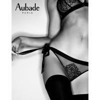Aubade Boite a Desir Secret Ties オーバドゥ  【トライアングルブラ+ブラジリアンショーツのセット】