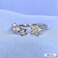フリーサイズ星のリング [mp022]