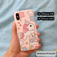 ユニコーンiPhoneケース | iPhone7/8/X/XS/SE2 [mp509]