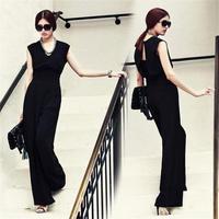 パンツドレス オールインワン コーデ 黒 ブラック 結婚式 レディース パーティー  FS006201