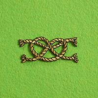 モチーフワッペン/ ロープ