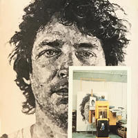 CHUCK CLOSE  FEBRUARY 25-26 MARCH 1983 /  THE FACE GALLERY