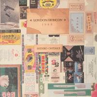 倫敦 /香港 1980 / 大竹伸朗 特装本 限定300部 限定150部の手彩 エッジング付