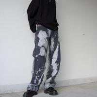 【LR1015】ブリーチデニム(ブラック)
