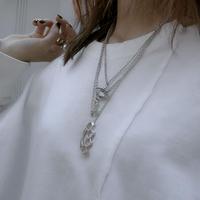 【LR1002】メリケンサックネックレス