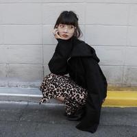 【LR0023】ショートパーカー (ブラック)