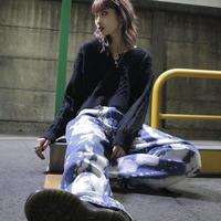 【LR1015】ブリーチデニム(ブルー)