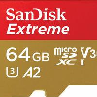 SanDisk ( サンディスク ) 64GB Extreme microSDXC (SDSQXA2-064G-GN6MA) [ 海外パッケージ ]
