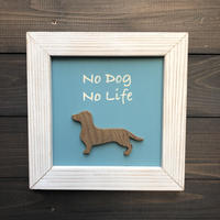 wood board F 〜no dog no life〜