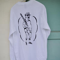 Shotgun  Long Sleeve T-shirts   / White