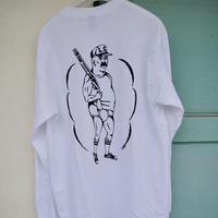 Shotgun  Long Sleeve T-shirts   / White