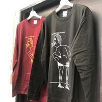 ケツBOY Long Sleeve T-Shirts  / ロンT