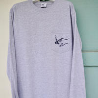 Shotgun  Long Sleeve T-shirts   / Mix gray