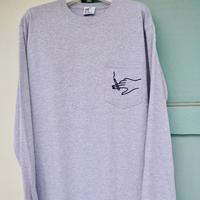 Shotgun  Long Sleeve T-shirts   / Mix gray