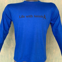 Casual 長袖Tシャツ(RB×Bk)