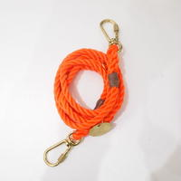 Found My Animal ADJUSTABLE DOG LEASH(RESCUE ORANGE)