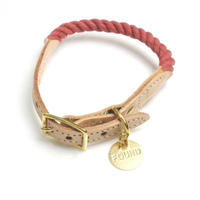 Found My Animal Rope Cat&Dog Collar(Nantucket/up-cycled)