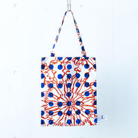 BAG_LCトート -BUBBLE FLOWER- (ORANGE)