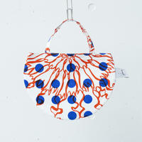 BAG_ミニRトート -BUBBLE FLOWER- (ORANGE)
