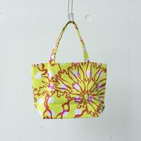 BAG_BOXトート -BUBBLE FLOWER- (YELLOW)