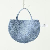 BAG_ミニRトート -ボタニカル- (BLUE)
