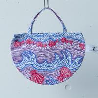 BAG_ミニRトート -LITTLE OCEAN- (PURPLE)
