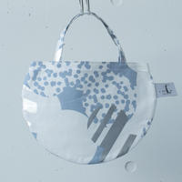 BAG_ミニRトート -SOUFFLE- (BLUE  GRAY)
