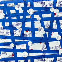 ACCESSORIES_ハーフカットクロス -MAGIC BIRD- (BLUE)