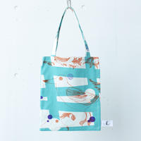 BAG_LCトート -MAGIC BIRD- (EMERALD GREEN)