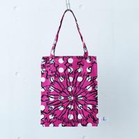 BAG_LCトート -BUBBLE FLOWER-  (PINK)