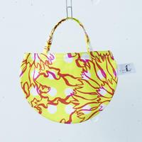 BAG_ミニRトート -BUBBLE FLOWER- (YELLOW)
