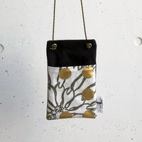 BAG_サコッシュ-BUBBLE FLOWOR -(GOLD)