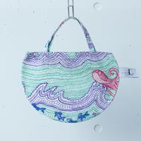 BAG_ミニRトート -LITTLE OCEAN- (EMERALD GREEN)