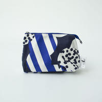 POUCH_マチ付きポーチ  -SOUFFLE- (BLUE)