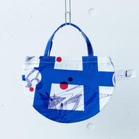 BAG_ミニRトート -MAGIC BIRD- (BLUE)