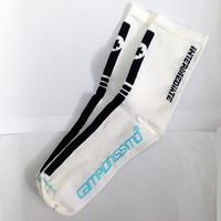 【春と秋】アソス インターミディエイトソックス S7 白 whitePanther