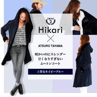 "ATSURO TAYAMA×JAFコラボ""Hikari""ムートンコート"