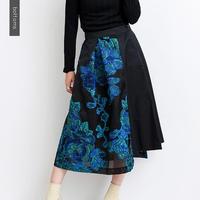 【kittle. キトル】刺繍スカート   b0011