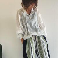 【kittle キトル】袖リブロングブラウス  春夏秋  c0045
