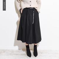 【kittle. キトル】タック入りフレアスカート sk0011