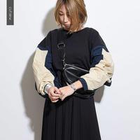 異素材シャカシャカカットソー  c0021  春