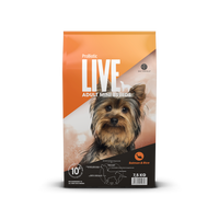 ドイツ発 スーパープレミアム ドッグフード  プロバイオティック ライブ (Probiotic Live) 小型犬 成犬 サーモン&ライス 2KG