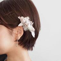 【2019限定】ファーとお花のコーム*