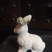【限定一点】Lilaf  小花の片耳イヤリング green