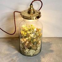 【限定数量】Lilaf フラワーボトルライト  yellow
