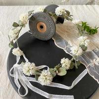 シロツメクサの花冠*