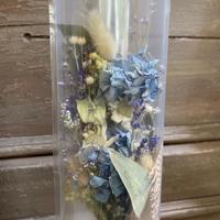 【Lilaf限定1点*】アジサイの花キャリー*Blue