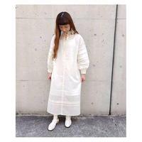 [2way]シアーワンピース*White
